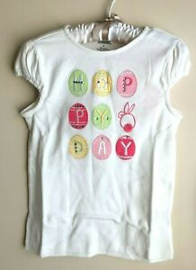 NWT Gymboree Size 8 Hoppy Day Easter Bunny egg Top