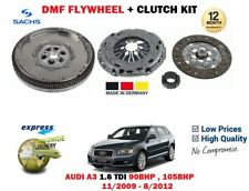 FOR AUDI A3 1.6 TDI 90BHP 105BHP 2009-2012 NEW DPF FLYWHEEL + CLUTCH KIT 5 SPEED