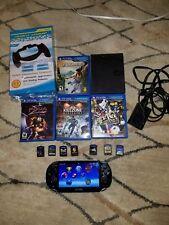 Sony PlayStation Vita First Edition Black Wi-Fi + 3G plus more