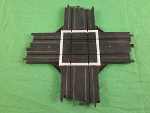 """3D printed repair section for your Tyco HO Scale Slot Car 9"""" Collision Crossing."""