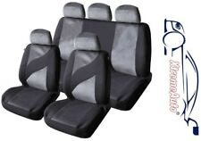 9 PCE EDINBURGH TWEED LOOK STYLE SEAT COVERS FOR Audi A1 A2 A3 A4 A5 A6