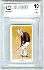 JACK NICKLAUS~RARE 1979 VENORLANDUS GOLF FLIK-CARDS BCCG-10 MINT+ ROOKIE RC #22