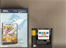 ROLO TO THE RESCUE MEGADRIVE RARE MEGA PLATFORMER