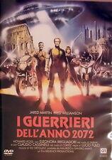 I GUERRIERI DELL'ANNO 2072 - Fulci DVD Martin Williamson Ross Brigliadori