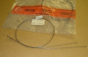 VW Heater Cable Rear Foot well Flap Control Cables German OEM Bug 111 711 713A