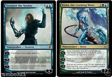 Kiora, The Crashing Wave & Tezzeret the Seeker + 20 Random Rares MTG Magic Lot