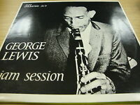 George Lewis Jam Session 12 Track Vinyl Album