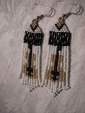 Seed Bead earrings guitars