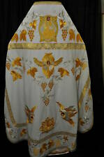 Russian Orthodox Priest Vestment Embroidered Velvet or silk