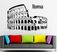 Wall Sticker Italy Pisa Tower Rome Building Mural Decal Vinyl Art Decor ZX577