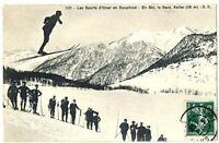 CPA 38 Isère Sports d'hiver saut en ski
