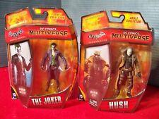 DC Multiverse Batman Lot Arkham Origins The Joker & Arkham City Hush New on Card