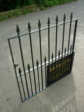 "COLSTON GARDEN GATE 40"" OP x 4FT TALL HEAVY DUTY SMALL WROUGHT IRON METAL"