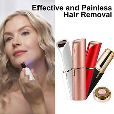 USB Rechargeable Women's Painless Facial Eyebrow Lipstick Shaver Removal Remover
