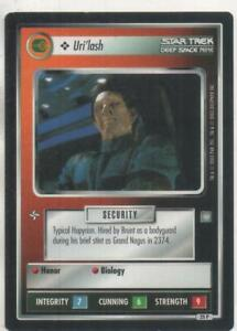 "Star Trek DS9 CCG Ferengi PREMIUM RARE Card ""Uri'lash"""