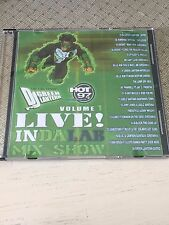 DJ GREEN LANTERN LIVE In Da Lab 1 RARE Hot 97 Mixtape CD Mix 50 Cent Mobb Deep