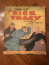"The ""Pop-Up� Dick Tracy Book 1935 Chester Gould Picture Books, Inc. Chicago"