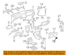 TOYOTA OEM 98-02 Corolla Instrument Panel Dash-Lock 5556012110E0