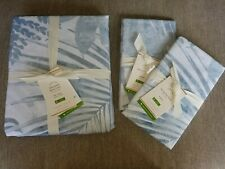 New Listing New Pottery Barn Layla Palm Full/Queen Duvet Cover & 2 Standard Shams
