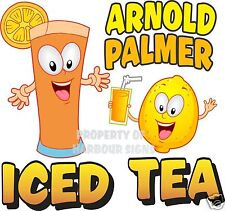 "Arnold Palmer Iced Tea Concession Decal 14"" Drinks Beverages Food Truck Vinyl"