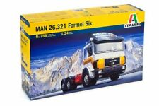 Italeri 756 - 1/24 Man 26.321 Formel 6 6X4 - Neu