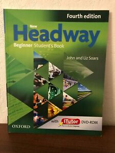New Headway Beginner Student's Book 4th Edition wiith DVD-ROm and iTutor