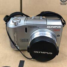Olympus CAMEDIA C-750 10x Optical Zoom 4.0MP Digital Camera - Silver 2.K1