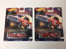 Error Hot Wheels Drag Strip Demons Lot of 6 flipped 63 Chevy Nova