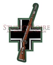 Kar98 German Army Rifle WW2 Warfare Military Rifle Vinyl Decal Sticker Kar98k