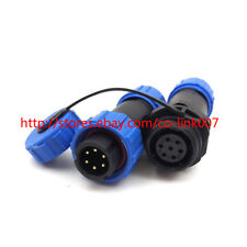 SP13 6pin Waterproof Connector, IP68 High-voltage Power Connector Aviation Plug