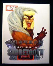 Sabretooth Marvel Comics Art Asylum Wolverine Bust Statue Rogue's Gallery  New