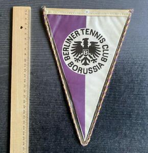 Alter Wimpel Berliner Tennis Club Borussia mittel