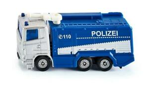 NEW Siku Scania R380 Police Water Cannon Die Cast Toy Car 1079