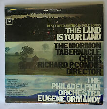 This Land Is Your Land The Mormon Tabernacle Choir Colombia Stereo LP 1965 (NM)