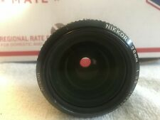 Nikon 28mm 1:35 manual focus camera lens f mount