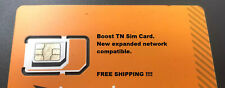 Boost Mobile Tn Sim. Works With All Byod And Sn Compatible Boost Phones.