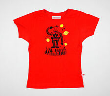 """WALTER VAN BEIRENDONCK SS 2010 """"WONDER"""" red T shirt size L - Made In Italy"""