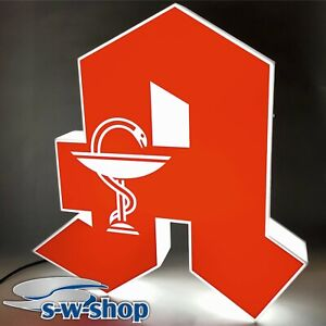 "Apotheken ""A"" LED Logo 60cm einseitig 3D Buchstabe"