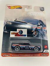 '18 Dodge Challenger SRT Demon * 2020 Hot Wheels Car Culture POWER TRIP Case T