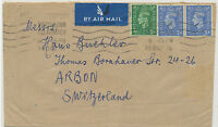 "GB ""PORTADOWN / CO. ARMAGH"" Krag machine postmark multiple impression on cover"