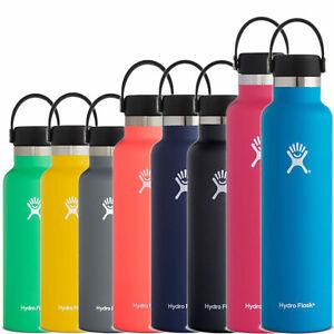 Hydro Flask Standard Mouth Trinkflaschen Thermosflaschen Isolierte Flasche NEU