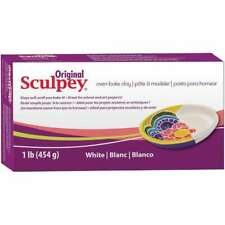 Sculpey Original Polymer Clay 1lb White 715891111628