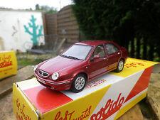 SOLIDO LANCIA LYBRA 1999 rouge, Neuf dans sa boite collection HACHETTE
