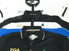 3 Galvin Green Golf Polo Shirts M Glen Arbor  Black Blue, White PGA Championship