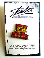 Collectible/Exclusive Celebrating StanLee Official Event Stan Lee Signature Pin