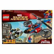 Lego Super Heroes 76016 Spider-helicopter Rescue