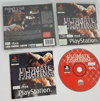 Ultimate Fighting Championship (PS1) COMPLETE FAST FREE UK POST