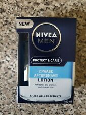 New Nivea Men 2 Phase Aftershave lotion 100ml