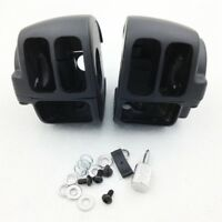 Switch Housings Cover For 2009 Later Harley Dyna Sportsters Softail V-Rod Black