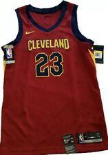NBA Basketball Lebron James 23 Cleveland Cavs Nike Maroon Mens Jersey NWT Red 40